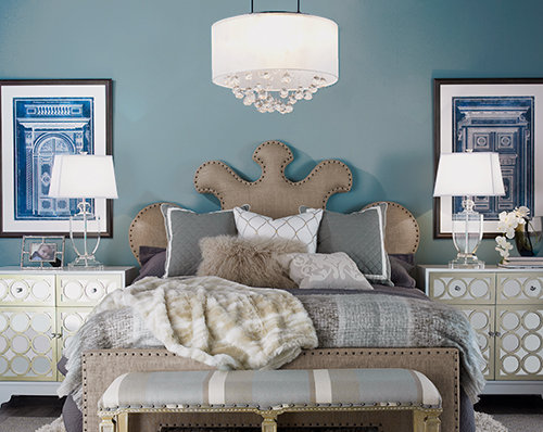 Ideas For Choosing, Placing And Hanging A Bedroom Chandelier - Shades Of Light